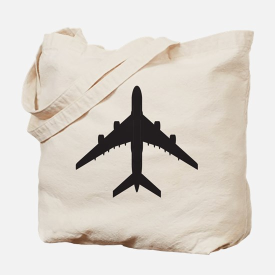Airplane Tote Bag