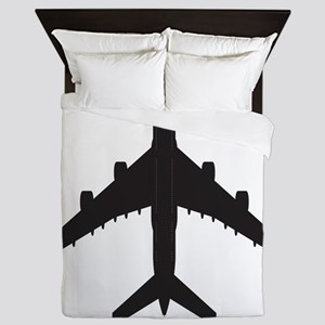 Airplane Queen Duvet
