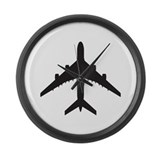 Airplane Giant Clocks