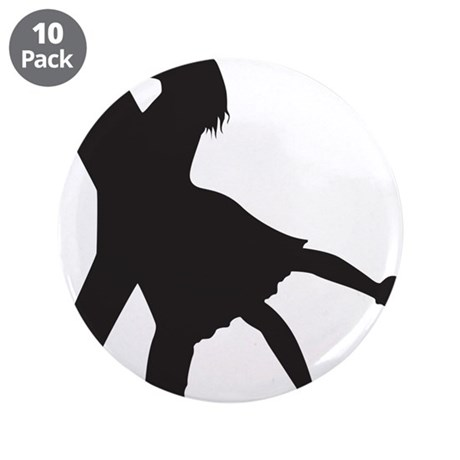 "Lovers 3.5"" Button (10 pack)"
