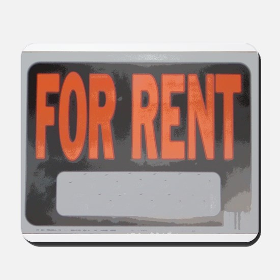 For Rent Mousepad
