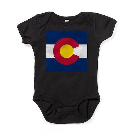 Colorado Flag Baby Bodysuit