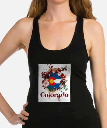Butterfly Colorado Racerback Tank Top