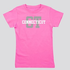 CT Connecticut Girl's Tee