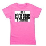 Rock Star In Connecticut Girl's Tee