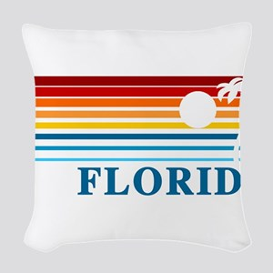 Florida Woven Throw Pillow
