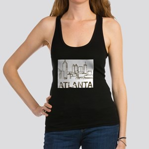 bc2ede437bc62a Atlanta Racerback Tank Tops - CafePress