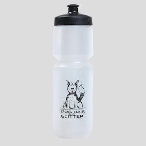 Dog Hair is My Glitter Sports Bottle