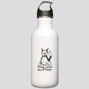 Dog Hair is My Glitter Water Bottle