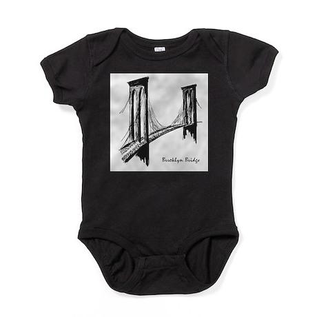 Brooklyn Bridge (Sketch) Baby Bodysuit