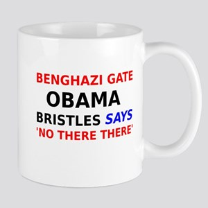 Benghazi Gate Obama Bristles says No There There M