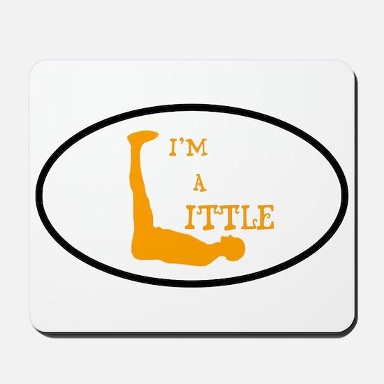 I'm a Little Tony Kornheiser Sticker Mousepad