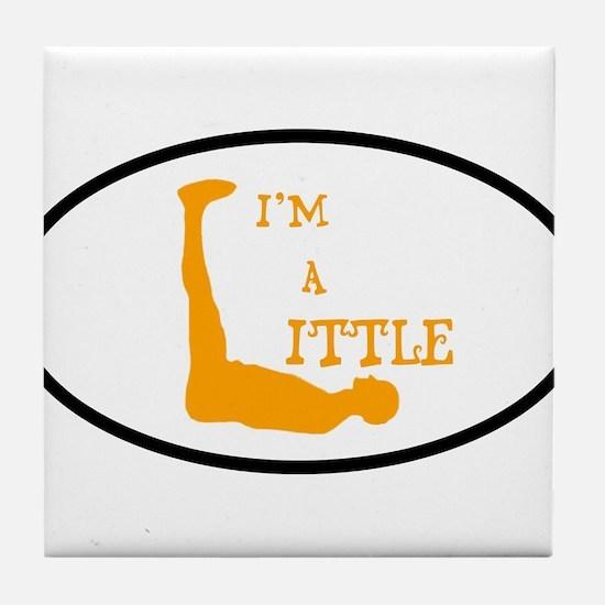 I'm a Little Tony Kornheiser Sticker Tile Coaster
