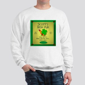 IRISH PUB PERSONALIZED Sweatshirt
