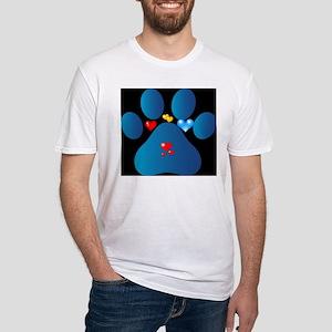 blue paw T-Shirt