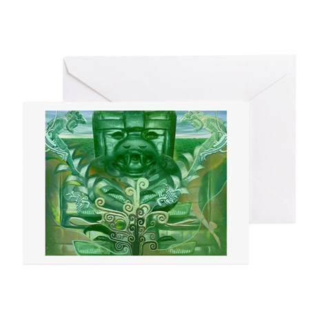 Olmec Were Jaguar Greeting Cards (Pk of 10)