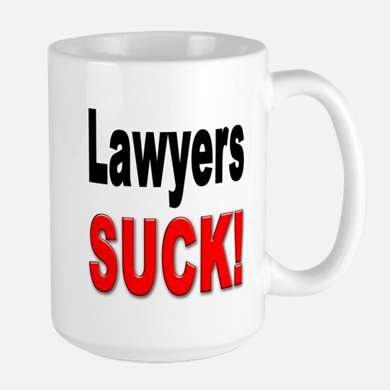 Lawyers Suck Large Mug