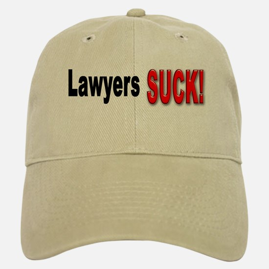 Lawyers Suck Baseball Baseball Cap