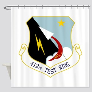 412th TW Shower Curtain