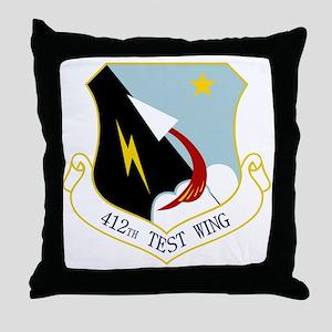 412th TW Throw Pillow