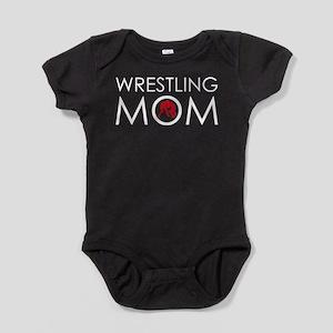 Wrestlig Mom Baby Bodysuit