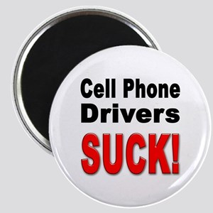 Cell Phone Drivers Suck Magnet