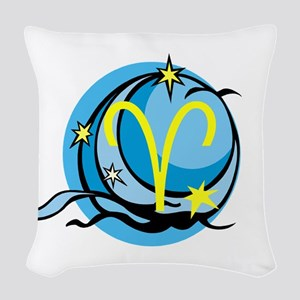 Aries Woven Throw Pillow