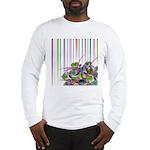 Atom Flowers #28 Long Sleeve T-Shirt