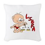 Libra Woven Throw Pillow