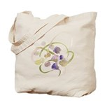 Atom Flowers #19 Tote Bag