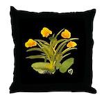Atom Flowers #34 Throw Pillow