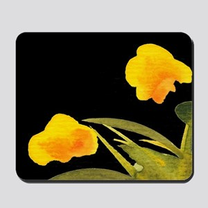 Atom Flowers #34 Mousepad