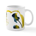 Atom Flowers #3 Small Mug