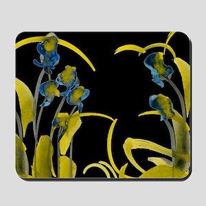 Atom Flowers #3 Mousepad