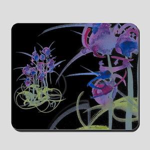Atom Flowers #39 Mousepad