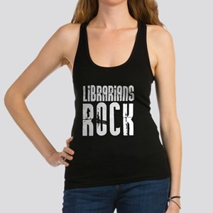 Librarians Rock Racerback Tank Top