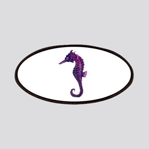 Purple Seahorse Patches