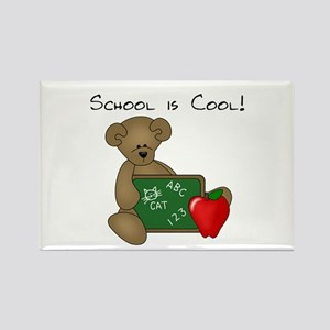 School is Cool Rectangle Magnet