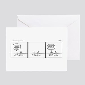 Milk dispensing pillows Greeting Card