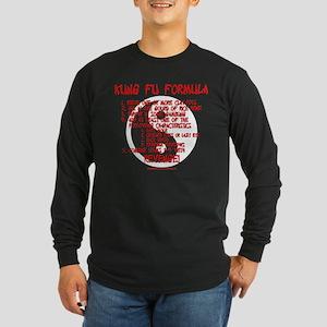 Kung Fu Formula Long Sleeve Dark T-Shirt