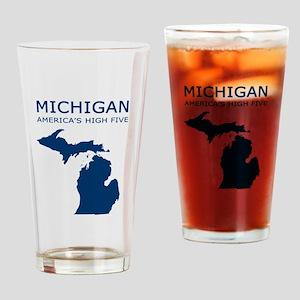 3-MI_high5 copy Drinking Glass