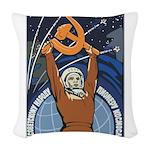 Communism Woven Throw Pillow