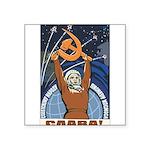 Communism Square Sticker 3
