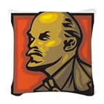 Lenin Woven Throw Pillow