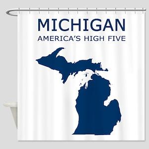 MI High5 Shower Curtain