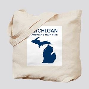 MI_high5 Tote Bag