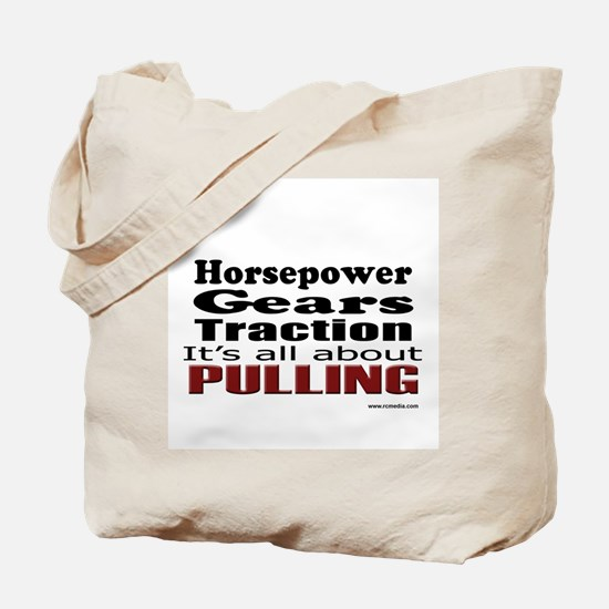 Cute Tractor pull Tote Bag