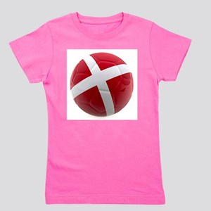 Denmark world cup ball Girl's Tee