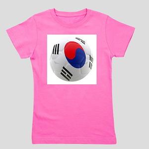 South Korea world cup soccer ball Girl's Tee