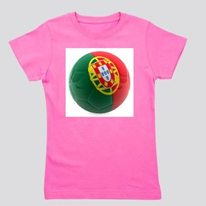 Portugal World Cup Ball Girl's Tee